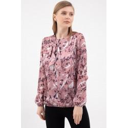 Bluza Eleganta Roz cu Flori