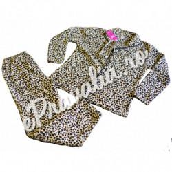 Pijama Pufoasa Maro Leopard