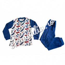 Pijama Albastra Masinute