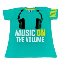 Tricou Verde Music On