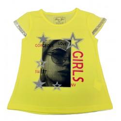 Tricou Galben Girls