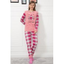 Pijama Pufoasa Star Roz